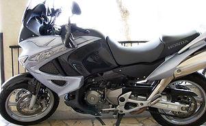 Honda plateado