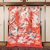 R009-桜に鶴-朱赤で水色.jpg
