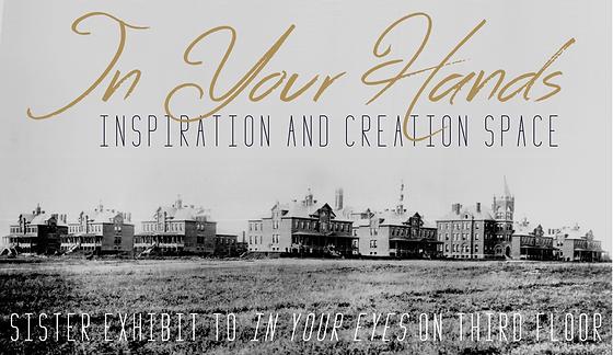 In Your Hands postcard