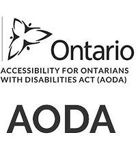 Logo for the Accessibility for Ontarians with Disabilities Act