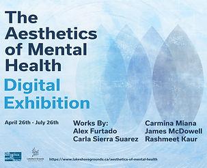 The Aesthetics of Mental Health 2021 Exh