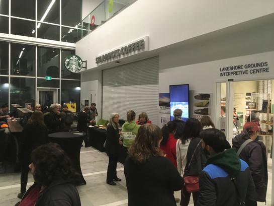 Moccasins Re-vamped exhibit launch