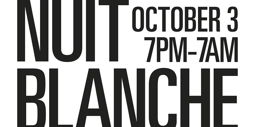 #WeAreIndigenous at Nuit Blanche Toronto