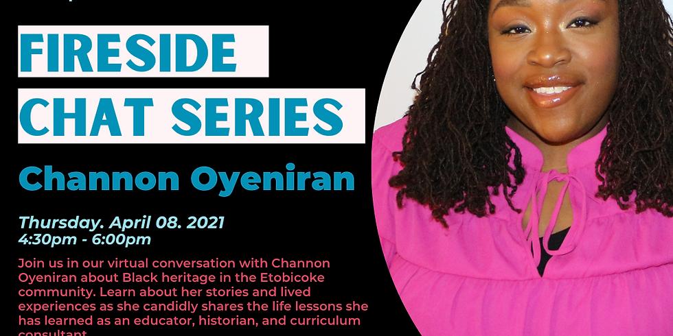 Fireside Chat with Channon Oyeniran