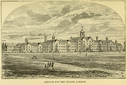 Lithograph ofthe London Asylum