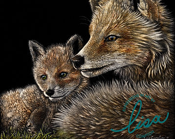 Foxes, Lisa Compton