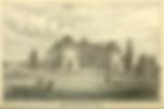 Lithograph of the Orillia Asylum