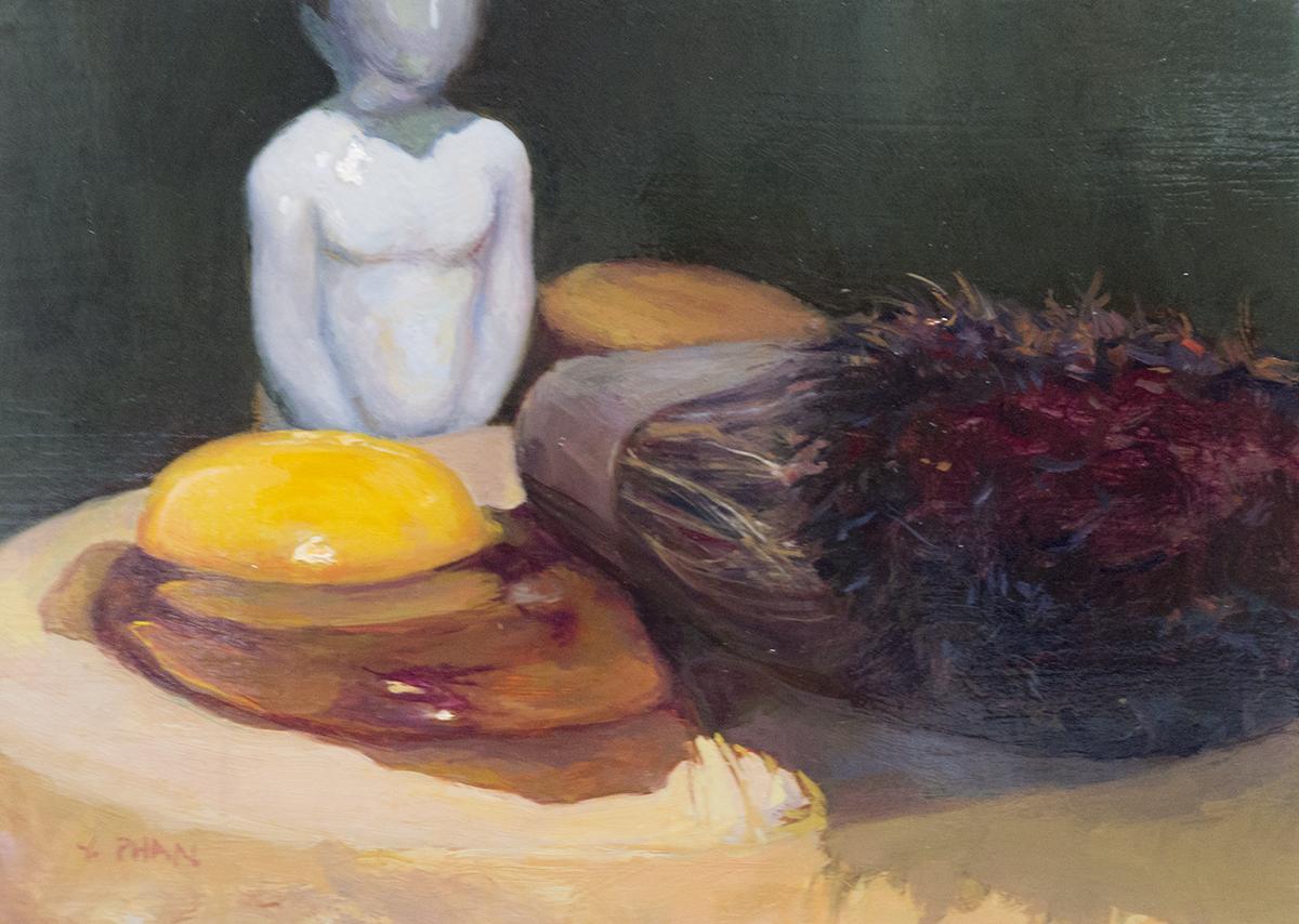 "Francis Bacon, 5x6"", $600"