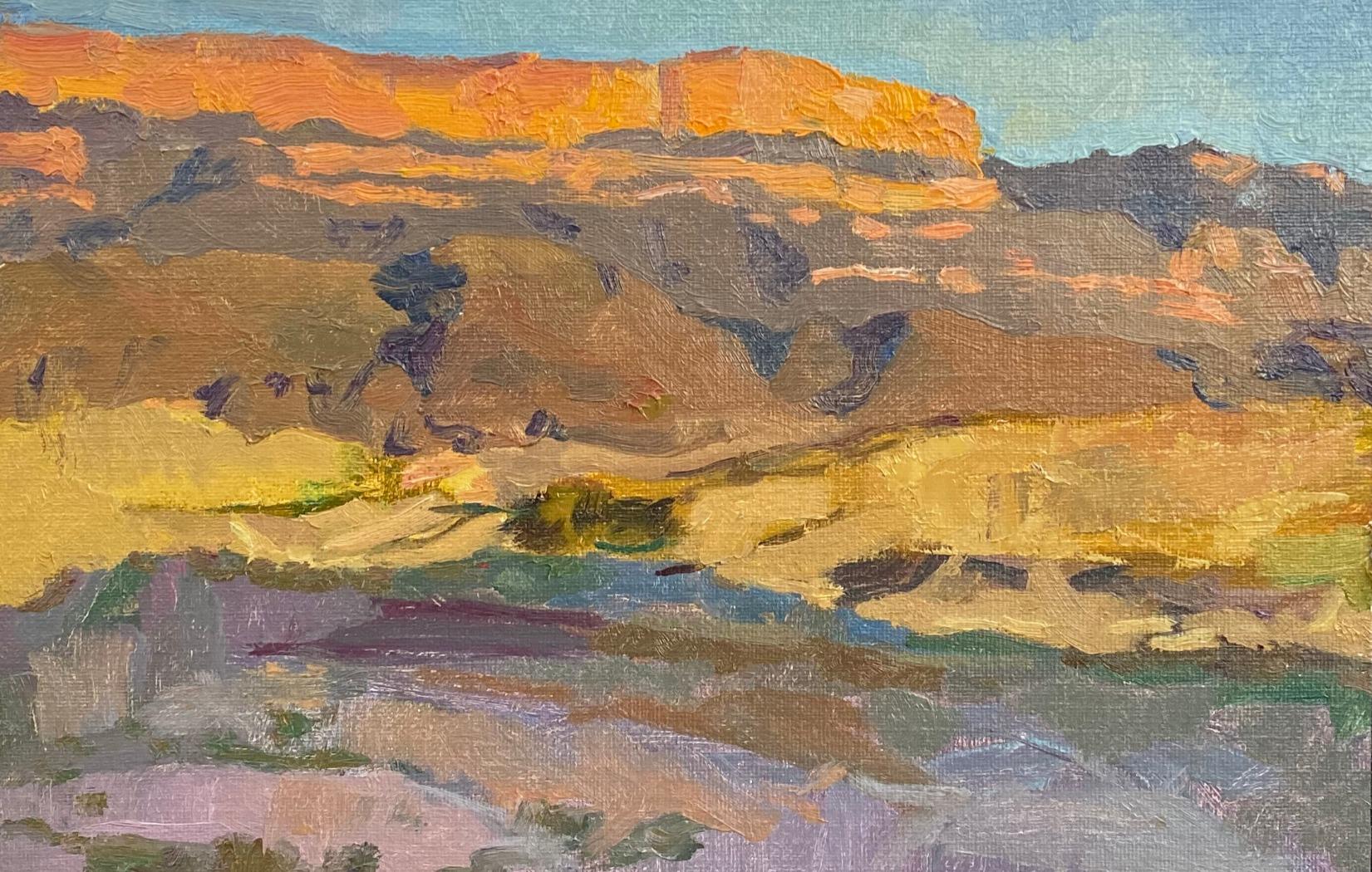 sierra del carmen mountain range