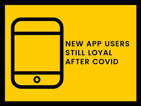 New App Users Still Loyal After COVID