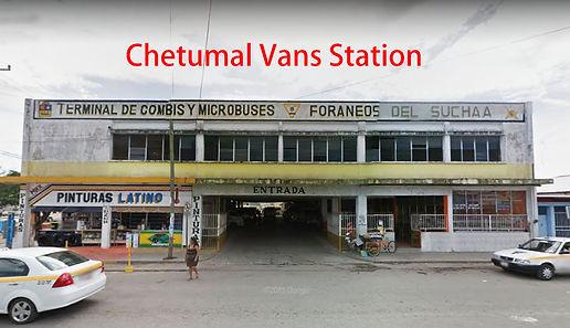 Bus station Chetumal to Bacalar