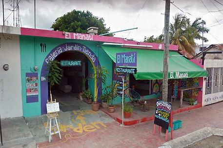El Manatí, Restaurante de Bacalar