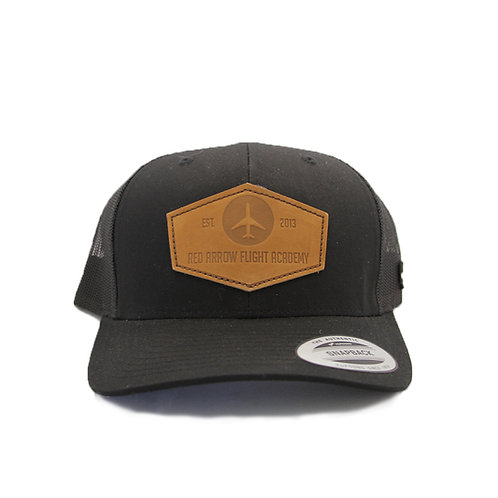 Red Arrow Trucker Hat - Black