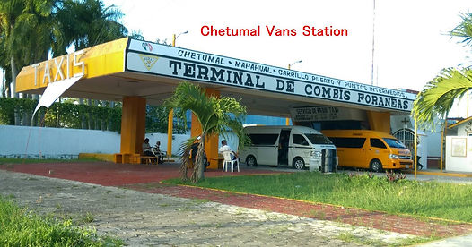 Estación de autobuses de Chetumal a Bacalar Sunrise Villa