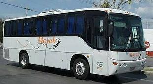Autobus Mayab a Bacalar Sunrise Villa