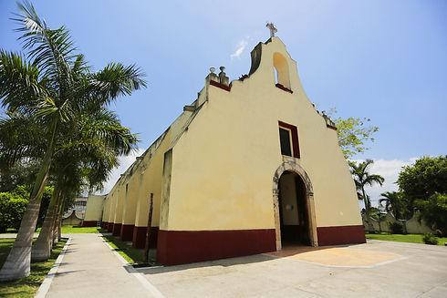 La Iglesia de San Joaquín Bacalar, Quintana Roo