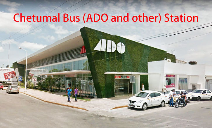 Terminal ADO en chetumal