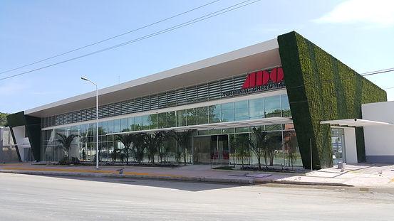 Estación de autobuses ADO Chetumal a Bacalar Sunrise Villa