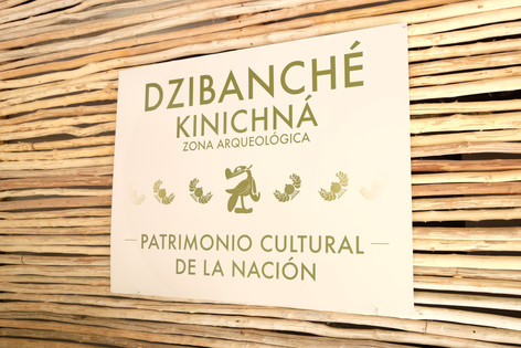 Entrada a Zona Arqueológica de Dzibanché