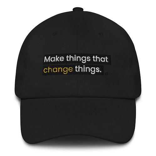 Make Things- Dad's Hat