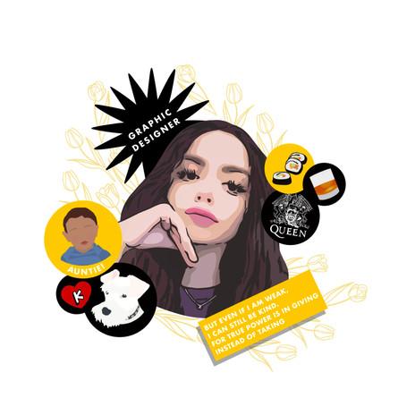 Valeria - Graphic Designer