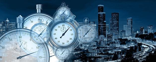 Zeitmanagement Bild von Gerd Altmann auf