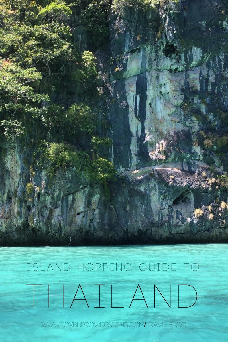 Island Hopping in Thailand | Fox Burrow Designs | Art Prints | West ...