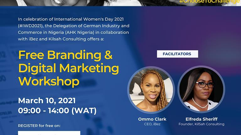 Free Branding & Digital Marketing Workshop