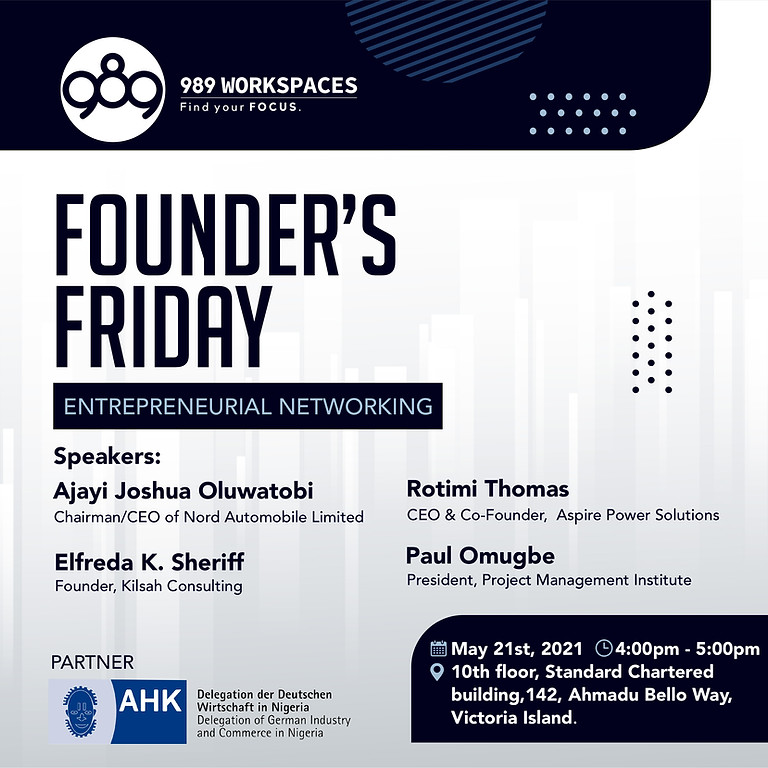 Founder's Friday