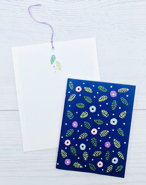 Embroidery Greeting Cards