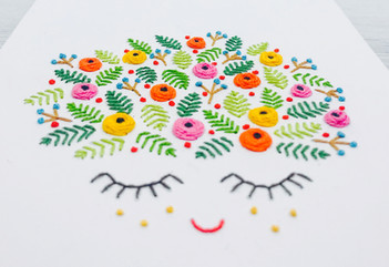 Colorful Dreams Embroidery