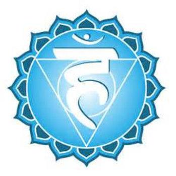 Throat Chakra Clearing & Balancing Bag