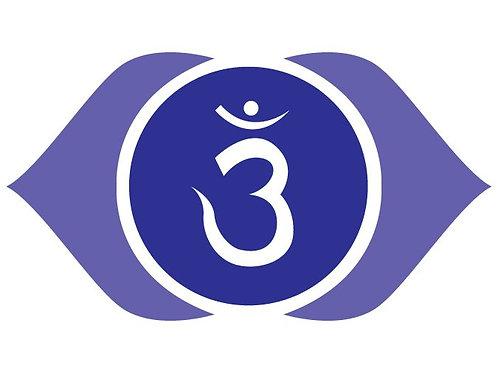 Third Eye Chakra Stone Clearing & Balancing Bag