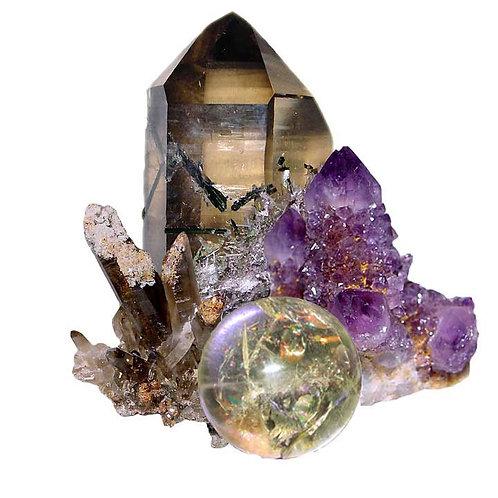 Mother Nature's Treasures: Crystals & Gemstones