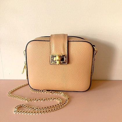 Nude Square Bag