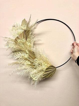 Natural Palm Wreath