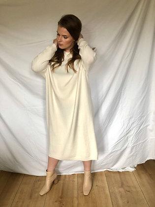 May Wool Dress Ivory