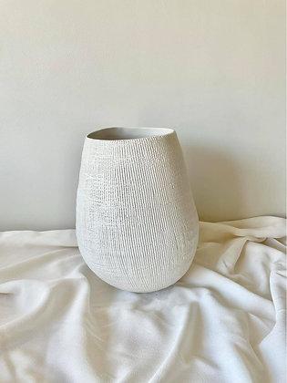 Vaas Textuur Wit