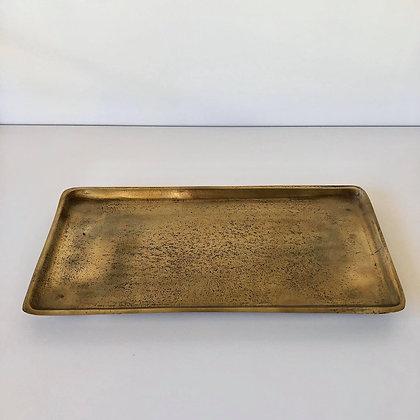 Gouden Dienblad Rechthoek L