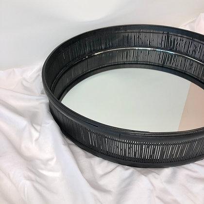 Dienblad/Spiegel Zwart Bamboo