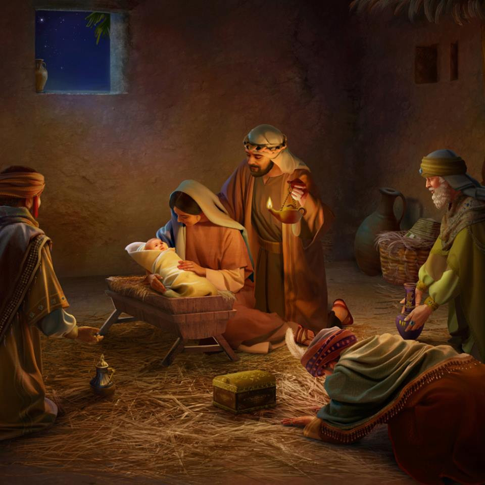 "23""Behold, the virgin will be with child and will give birth to a son, and they will call Him Immanuel"" (which means, ""God with us"")."