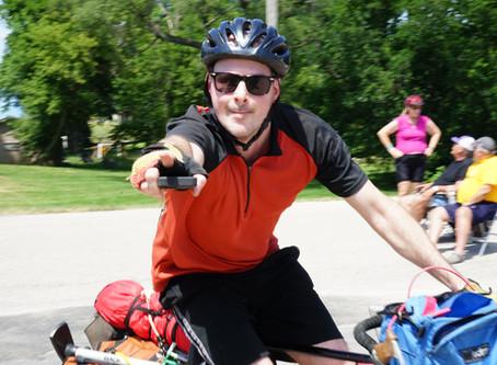 RAGBRAI Recreational Bicycling Tour   July 2019