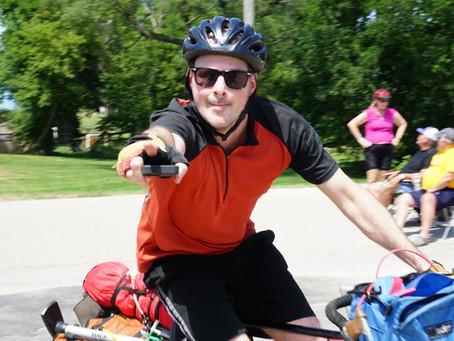 RAGBRAI Recreational Bicycling Tour | July 2019