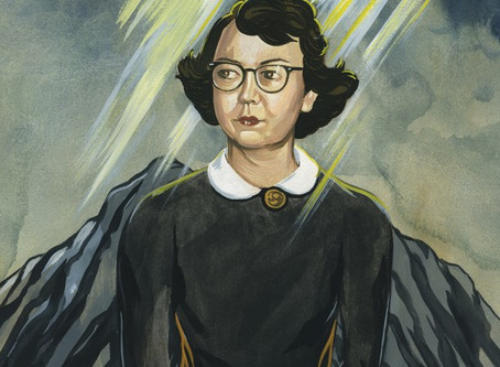 On imagining, the Ascension, and Flannery O'Connor