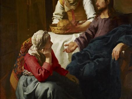 On Martha, Mary, Jackson Devereaux, and Sally