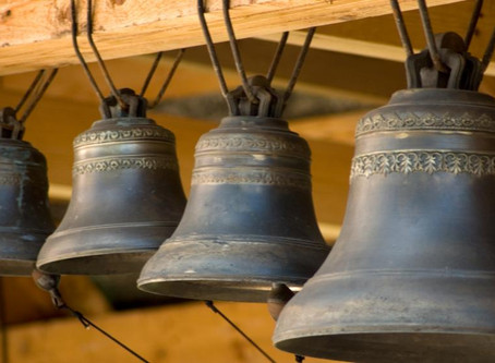On - yes - a bell ringing once again