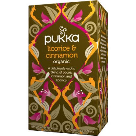 Pukka Ekologiskt Örtte Licorice &Cinnamon, 20st