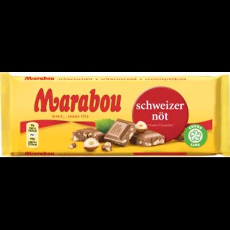 Marabou Schweizernöt - Hazelnut Chocolate 200 gr