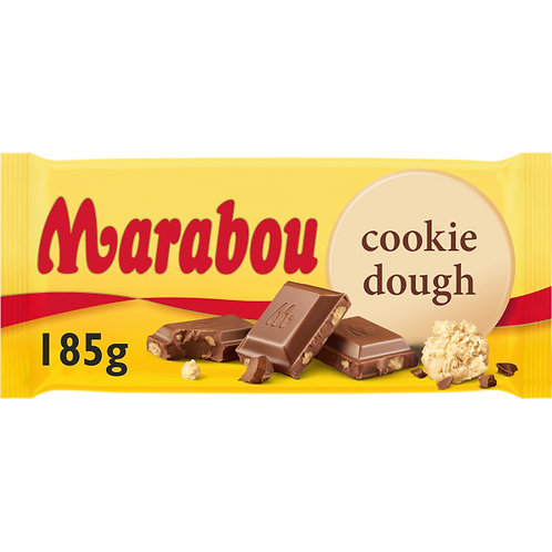 Marabou Cookie Dough, 185gr