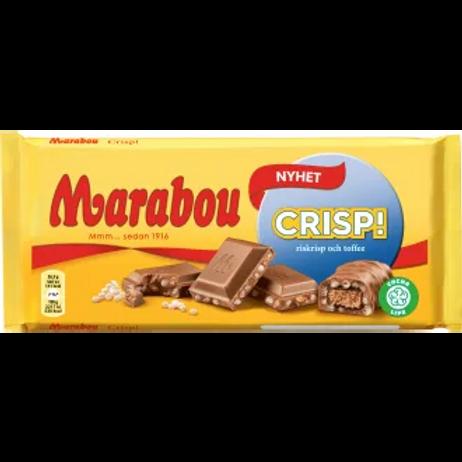 Marabou Crisp - Milk Chocolate with crisp 185gr.